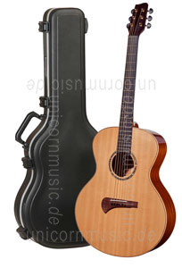 Large view Acoustic Guitar TANGLEWOOD TSM/2 - MASTERDESIGN Series - Grand Auditorium - B-Band A1.2 - all solid + Hardcase
