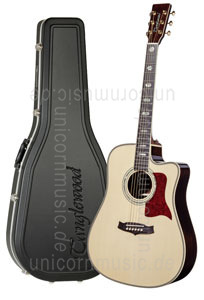 Large view Acoustic Guitar TANGLEWOOD TW1000/H SRC E - Heritage Series - Fishman Presys Blend - Cutaway - all solid