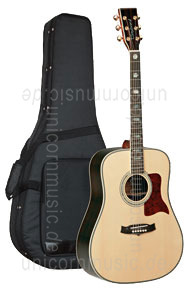 Large view Acoustic Guitar TANGLEWOOD TW1000-2 - Sundance Series - Dreadnought - all solid