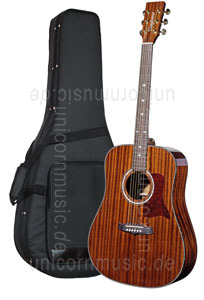 Large view Acoustic Guitar TANGLEWOOD TW15/ASM NAT  - Sundance Series - Mahagoni - Dreadnought - all solid