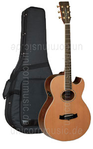 Large view Acoustic Guitar TANGLEWOOD TW45/FLM B - B-Band - Sundance Series - B-Band - Super Folk - Electro Cut. - all solid