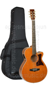 Large view Acoustic Guitar TANGLEWOOD TW45/H SR E - Heritage Series - Super Folk - Fishman Presys Blend - Cutaway - all solid