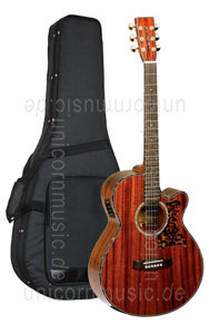 Large view Acoustic Guitar TANGLEWOOD TW47/B - Sundance Series - Fishman Presys Plus EQ - Super Folk - Cutaway - all solid