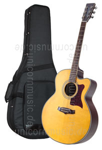 Large view Acoustic Guitar TANGLEWOOD TW55/NS E - Sundance Series - Fishman Presys Plus EQ - Jumbo - Cutaway - solid top + back
