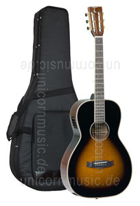 Large view Acoustic Guitar TANGLEWOOD TW73  VS E - Fishman Presys Plus EQ - Parlour Style - Sundance Series - solid top + back