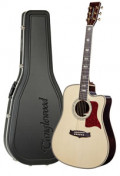 Acoustic Guitar TANGLEWOOD TW1000/H SRC E - Heritage Series - Fishman Presys Blend - Cutaway - all solid + hardcase