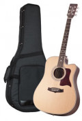 Acoustic Guitar TANGLEWOOD TW15/NS CE - Sundance Series - Fishman Presys Plus EQ - Cutaway - all solid