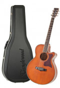 Acoustic Guitar TANGLEWOOD TW45/NS E - Sundance Series - Fishman Presys Plus EQ - Super Folk - Cutaway - solid top + back - hardcase
